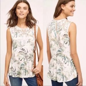 Anthro Meadow Rue Lia Tank Top